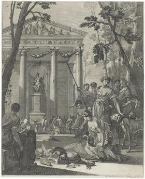 Opfer an Diana, 1661
