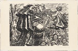 Gott Bauch (aus: Die Wandlungen Gottes), 1922
