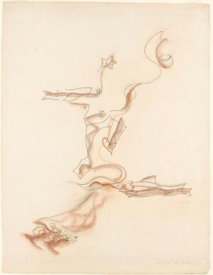 Poisson, homme, étoile, 1926