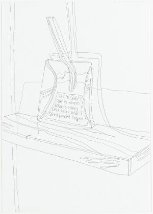 Was ist Geld? (Wolfgang Püschel). Aus der Serie »Mariposa«, 2006