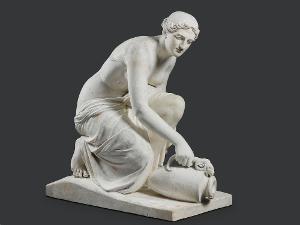 Modell Brunnennymphe, um 1810-1823