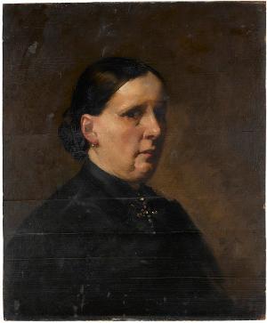 Bildnis einer Dame, nicht datiert