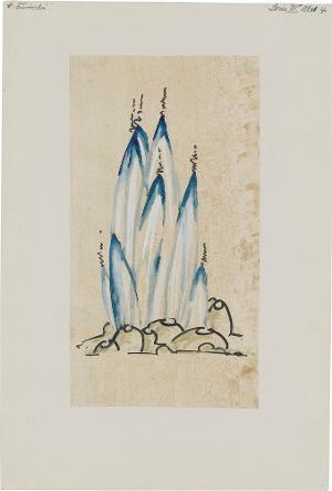 Architektur - Kathedrale des Lichts (Serie IV, Blatt 4), 1920-1924