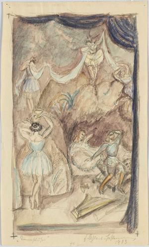 Tannhäuser im Venusberg, 1913
