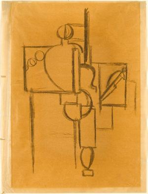 Der Maler an der Staffelei, 1920-24
