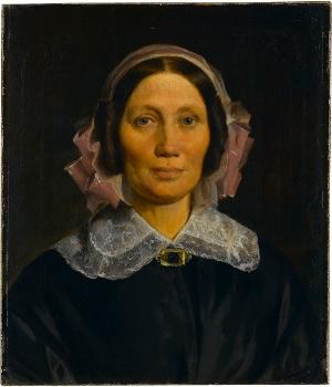 Frau Oberst Lottner, um 1845