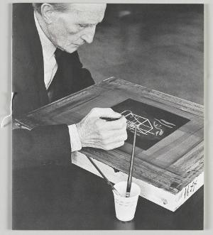 À l'infinitif / Boîte blanche (Im Infinitif / Weiße Schachtel), 1966