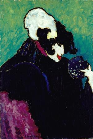 Die weiße Feder (Der Tänzer Alexander Sacharoff), 1909