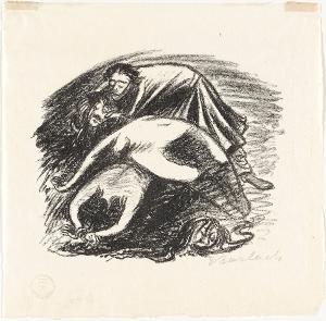Legende II (Der Totenhügel) (aus: Goethe, Gedichte), 1924