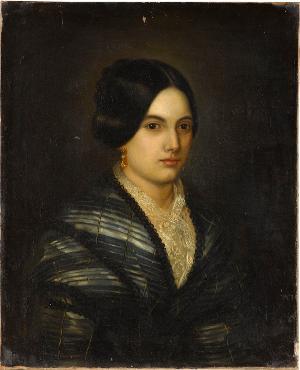 Damenbildnis, 1849