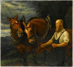 Oberländer (Pferdegespann), nicht datiert