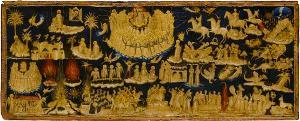 Szenen der Apokalypse des Johannes (Kapitel 1-13), um 1332/34