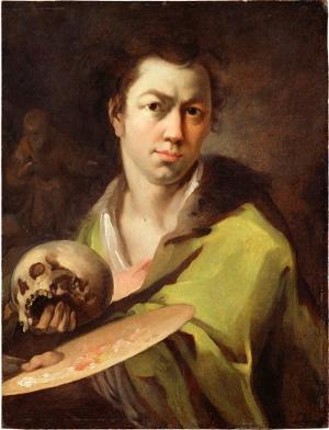 Selbstbildnis, um 1758