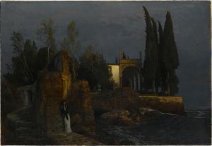 Villa am Meer, um 1877