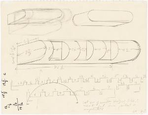 Ohne Titel (Entwurf zu einer Plastik), 1964