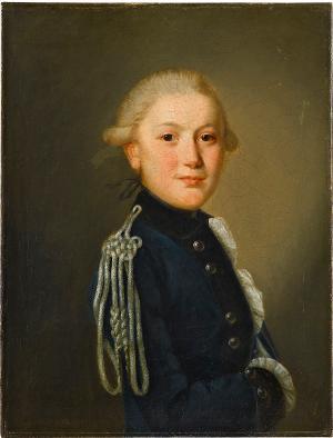 Wilhelm Ludwig Heigelin als Karlsschüler, um 1780