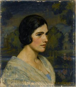 Damenporträt, nicht datiert