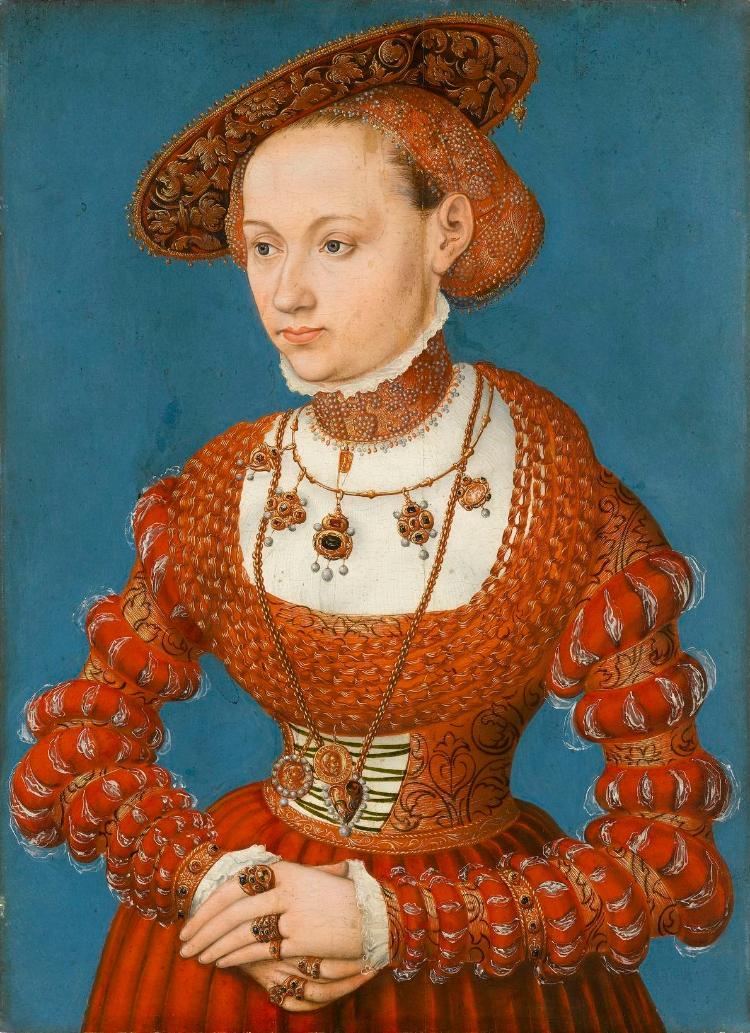 Bildnis der Agnes von Hayn, geb. von Rabenstein