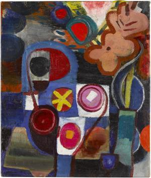 Abstraktes Stilleben, um 1935