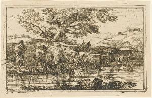 Die Herde an der Tränke, 1635
