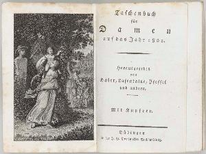 Irene (Titelkupfer in: Taschenbuch für Damen auf das Jahr 1802. Tübingen: Cotta), 1802