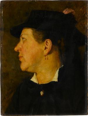 """""""Haushälterin Adelheid"""" - Porträt einer Frau, nicht datiert"""