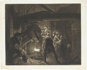 Die Eisenschmiede, 1773