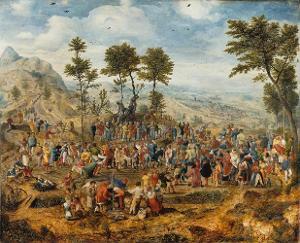 Der Einzug Christi in Jerusalem, um 1540