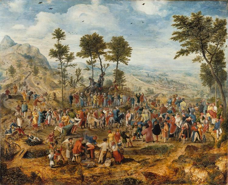 Der Einzug Christi in Jerusalem