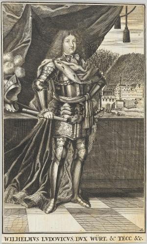 Wilhelm Ludwig, Herzog von Württemberg (1647-1677), 17. Jh.
