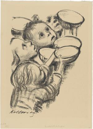 Deutschlands Kinder hungern, Ende 1923 (um 1931)