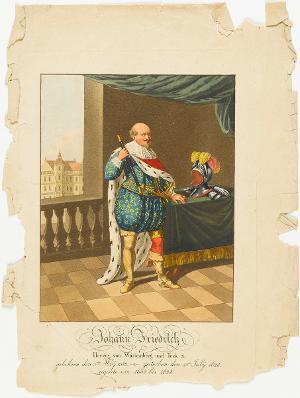 Johann Friedrich, Herzog von Württemberg (1582-1628) , um 1820