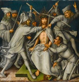 Graue Passion: Dornenkrönung Christi, zw. 1494 und 1500