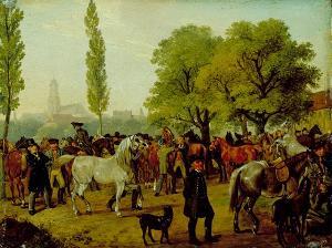 Pferdemarkt, nicht datiert