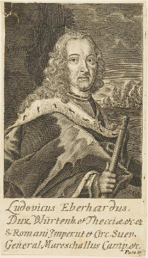 Eberhard Ludwig, Herzog von Württemberg (1676-1733), 17/18. Jh.