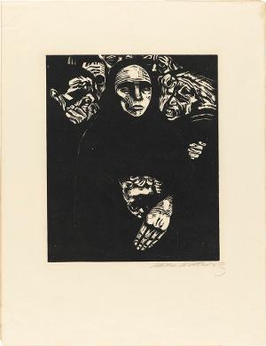 Krieg, Blatt 7: Das Volk, Herbst 1922