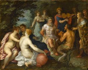 Das Urteil des Midas, 1606 (?)