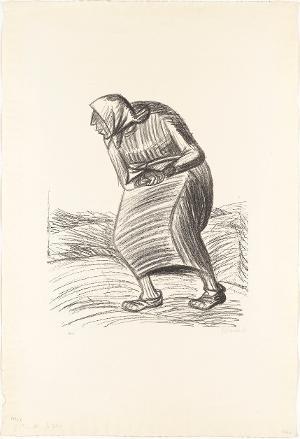 Fluch (Blatt 1 aus: Die Ausgestoßenen), 1922