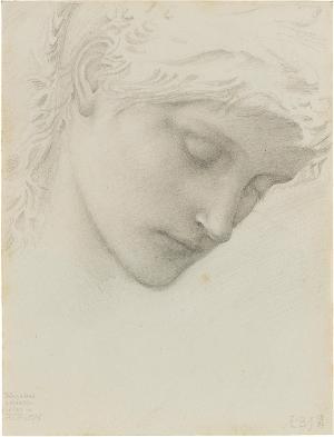 Mädchenkopf, 1885
