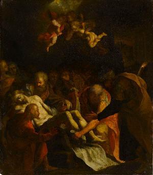 Grablegung Christi, um 1600
