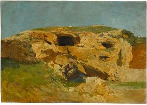 Jeremiasgrotte in Jerusalem, nicht datiert