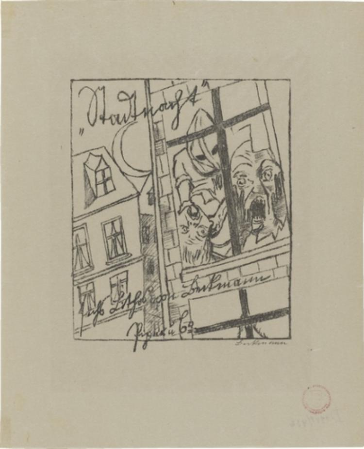Lili von Braunbehrens, Stadtnacht (Titelblatt)