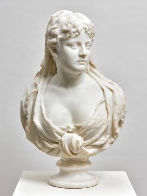 Büste einer Italienerin, 1877