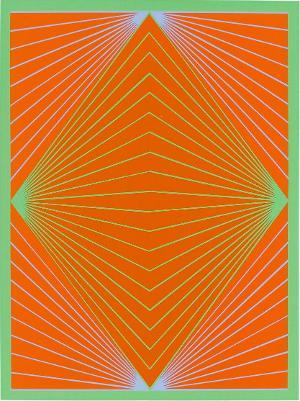 Diamond Chroma (Blatt 5 in: New York ten), 1965