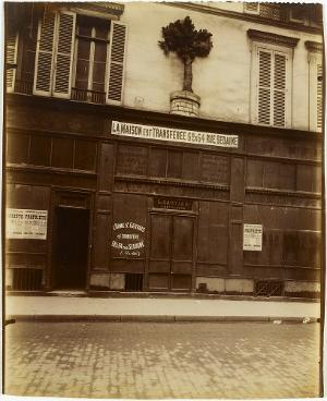 A l' orme St. Gervais 20 Rue de Temple (L' Art dans le Vieux Paris, no. 5768), 1901