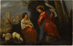 Christus als guter Hirte, Mitte 17. Jh.