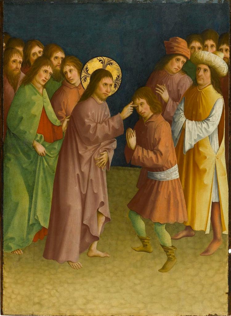 Christus heilt einen Blinden