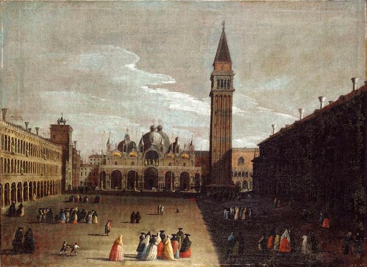 Vedute mit S.Marco und der Piazza