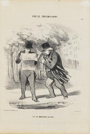 Auf den Boulevards von Paris (Le Charivari, 08.05.1848), 1848