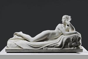 Najade (nach Antonio Canova), um 1838
